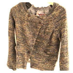 Free people boucle sweater.